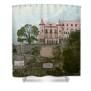 Somewhere In Italy Shower Curtain