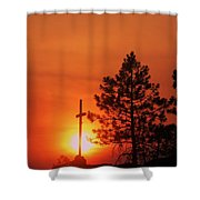 Son Of Suns Shower Curtain