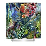 Song Of Borrowed Time Shower Curtain