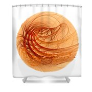 Song Of Fire Shower Curtain