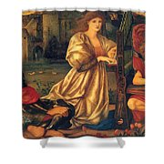 Song Of Love 1877 Shower Curtain