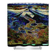 Song Of Love And Compassion Shower Curtain