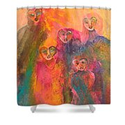 Song Of Our Heart Shower Curtain