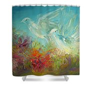 Song Of Solomon 2 12 Holy Scripture  Shower Curtain