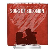 Song Of Solomon Books Of The Bible Series Old Testament Minimal Poster Art Number 22 Shower Curtain