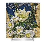 Song Of The Cereus Shower Curtain