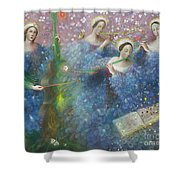 Song Of The Goddess Natura Shower Curtain