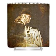 Song Of The Gypsy King Shower Curtain
