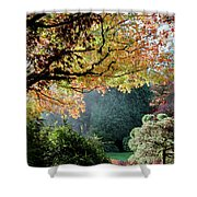 Song Of The Light. Shower Curtain