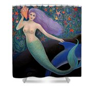 Song Of The Sea Mermaid Shower Curtain