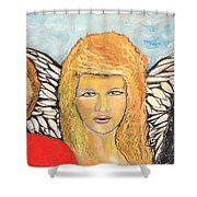 Song Of The Sisters Shower Curtain