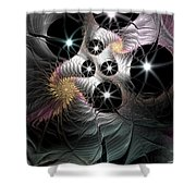 Song Of The Stars Shower Curtain