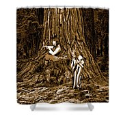 Songs In The Woods 2 Shower Curtain