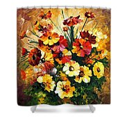 Songs Of My Heart Shower Curtain