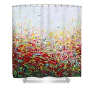 Songs Of Spring 3 Shower Curtain