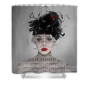Songwriter Shower Curtain