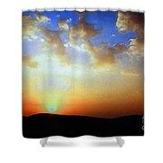 Sonnenuntergang 17052 Shower Curtain