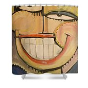 Sonny Sunny Shower Curtain