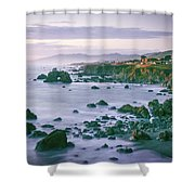 Sonoma Coast Shoreline Shower Curtain