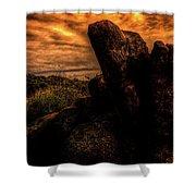 Sonoran Desert Early Morning Shower Curtain