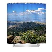 Sonoran Hillside Lookout Shower Curtain