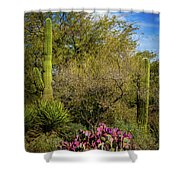 Sonoran Holiday Shower Curtain
