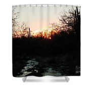 Sonoran Sundown Shower Curtain