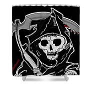 Sons Of Anarchy Logo Shower Curtain