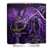 Sons Of Blood And Thunder Shower Curtain