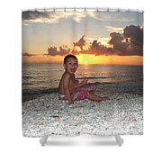 Sonsun Shower Curtain