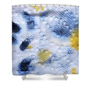 Soot And Sunshine Shower Curtain