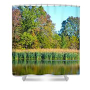 Soothing Reflections Shower Curtain