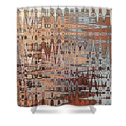 Sophisticated - Abstract Art Shower Curtain