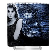 Sophisticated Woman Shower Curtain