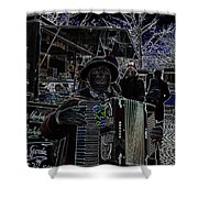 Soprano Altered Art Shower Curtain