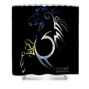 Soquili  Shower Curtain