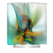 Sorcerers  Apprentice Shower Curtain