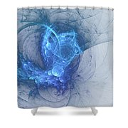 Sorching Blue Heaven Shower Curtain
