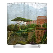 Sorrento Albergo Shower Curtain
