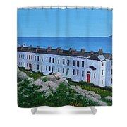 Sorrento Terrace, Dalkey Shower Curtain