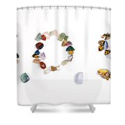 S.o.s Shower Curtain