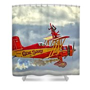 Soucy In Flight Shower Curtain
