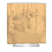 Soudais Deposition (d?position Soudais) Shower Curtain