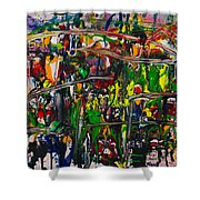 Soul Arena Shower Curtain