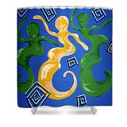 Soul Figures 2 Shower Curtain