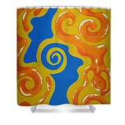 Soul Figures 5 Shower Curtain