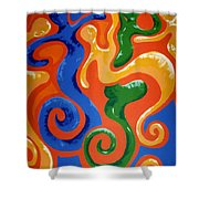 Soul Figures 7 Shower Curtain