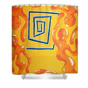Soul Figures 8 Shower Curtain
