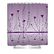 Soul Flowers Shower Curtain