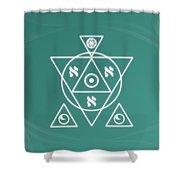 Soul Healing Shower Curtain